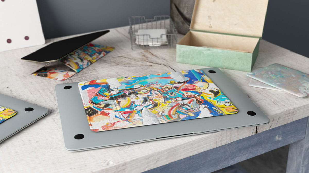 MOFT invisible laptop stand - Artist Edition - genuine ultra thin ...
